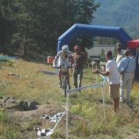 Joshua Berry on his way to setting a course record