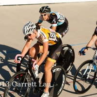 Jennifer Zierke performed well at the Hellyer Velodrome Challenge