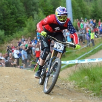 2013 UCI Downhill Mountain Bike World Cup-Fort William