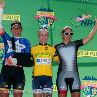 Jade Wilcoxson, Shelley Olds and Carmen Small comprised the women