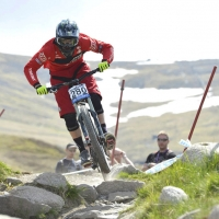 Luca Shaw finished seventh in the juniors men competition