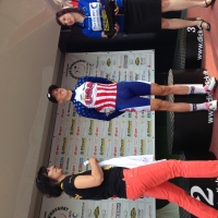 T.J. Eisenhart represented USA Cycling at the International Thuringen-Rundfahrt in Germany