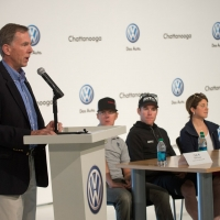 USA Cycling President & CEO Steve Johnson addressed the media