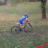 Katerina Nash riding solo