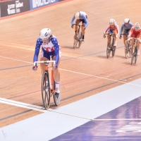 Newell lapped the field and also earned max points in the seventh sprint
