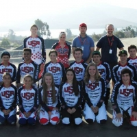 Participants in the junior development camp at the Chula Vista Olympic Training Center