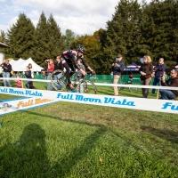 Zach McDonald hops the barriers on Saturday at Ellison Park
