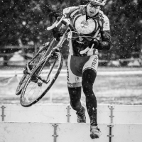 Dec. 2013 winner - Chris Scott en route to his Masters Men 45+ win at the Capital Cross Classic in Reston, VA on Dec. 8.