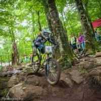 Alison Zimmer competes at the Beech Mountain Pro GRT.