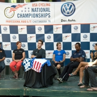 The athletes talk about the challenging courses in Chattanooga