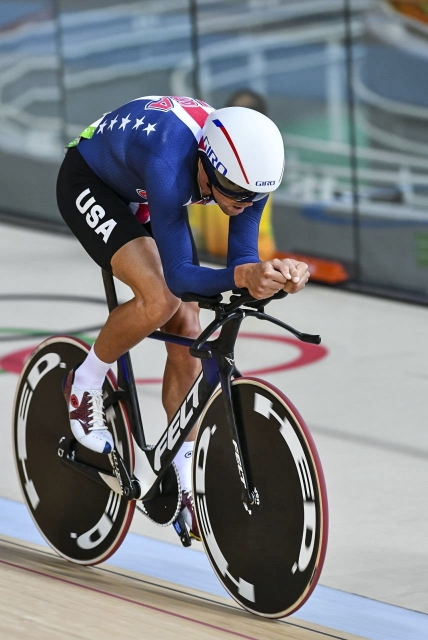 Bobby Lea was 8th in the omnium pursuit
