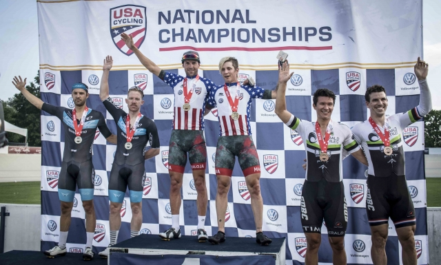 Elite & Junior Track Nationals conlude with elite Madison and more junior racing