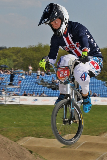 Sharrah wins final BMX World Cup
