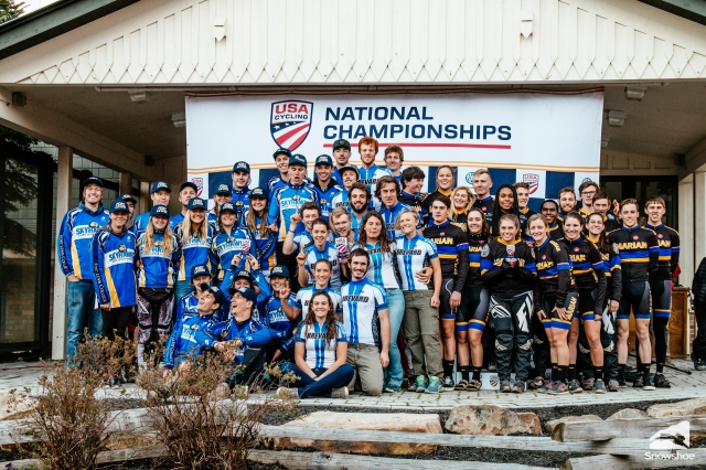 Four teams ride off with omniums as Collegiate MTB Nationals conclude