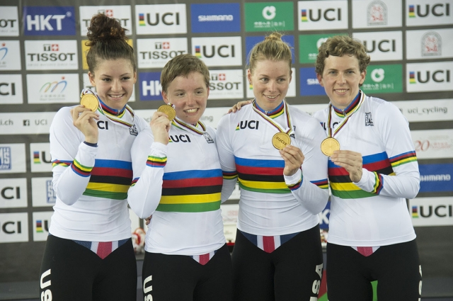 Team USA Earns Four Medals at the 2017 UCI Track World Championships