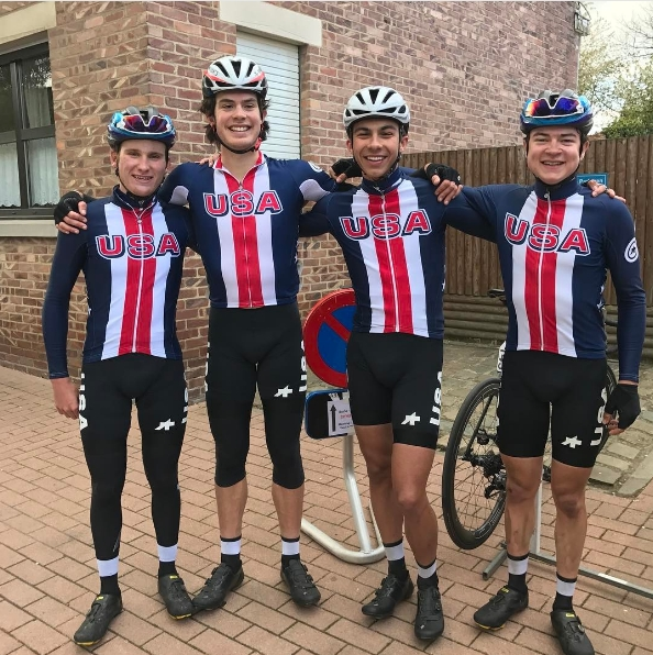 U.S. Juniors get ready for the Ster van Zuid Limburg in Belgium