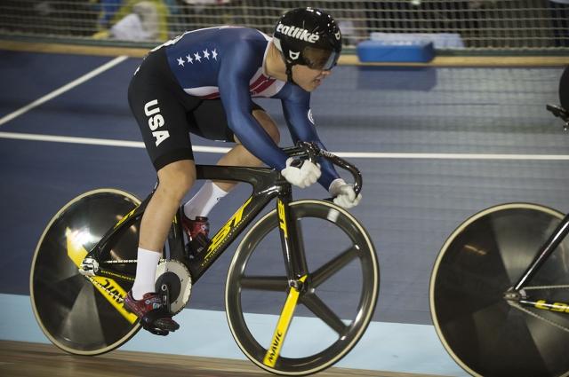 Dominic Suozzi in action