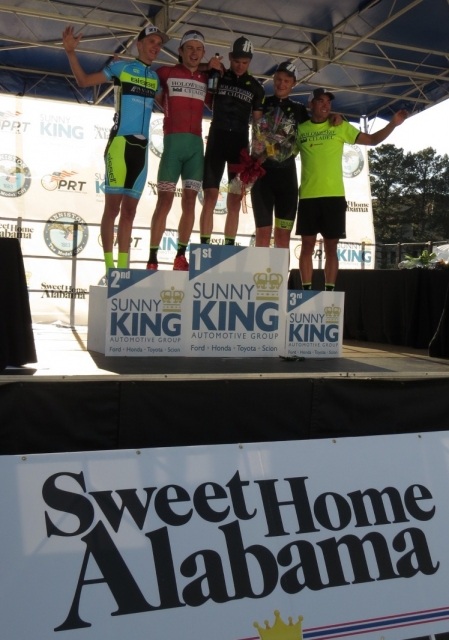 PRT's Alabama Cycling Classic features Sunny King Crit + 2nd day of racing in 2017