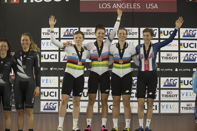 Two Gold Medals for Team USA at Track World Cup in LA