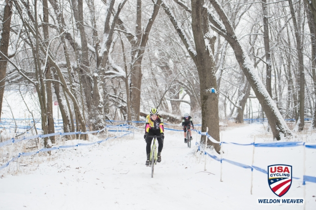 Bridget Tooley at the 2017 USA Cycling Cyclocross National Championships