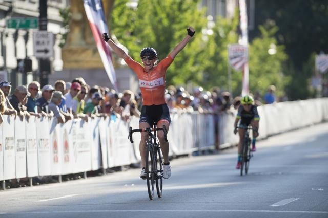 Allar wins the pro women's crit