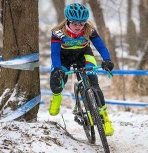 Matrix Cycle Club is also a new Center of Excellence program. This photo is of one of the club's juniors competing at Cross Nationals in January.