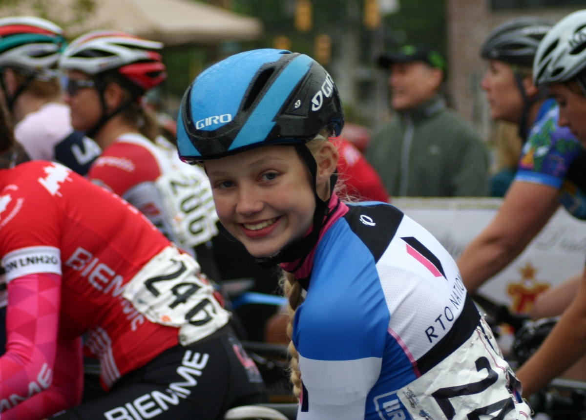 Izzie Harden utilized what she learned at camp in the Athens Orthopedic Clinic Twilight Criterium