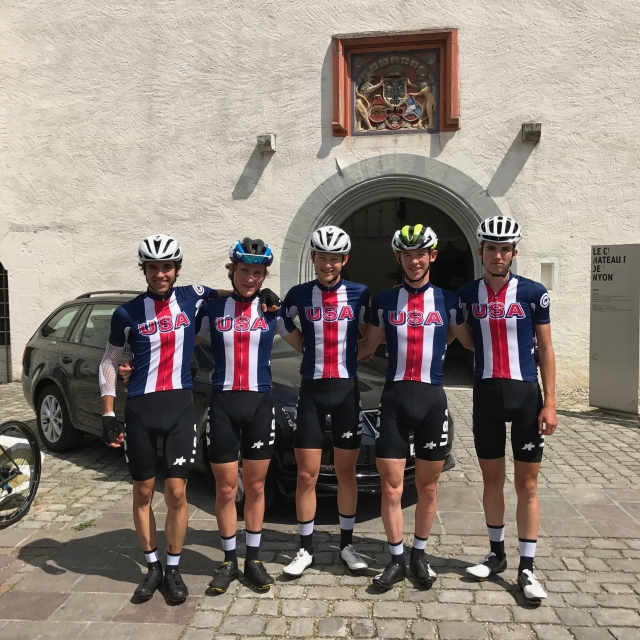USA Cycling fielded a strong junior team for Tour du Pays de Vaud.