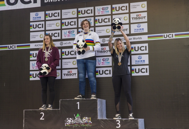 Hannah Roberts Wins Inaugural BMX Freestyle Park World Championships  - USA Cycling