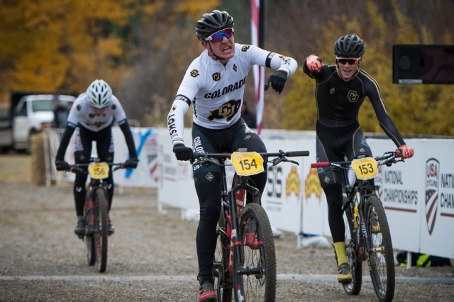 Ten more titles awarded on day two of Collegiate MTB Nationals - USA Cycling