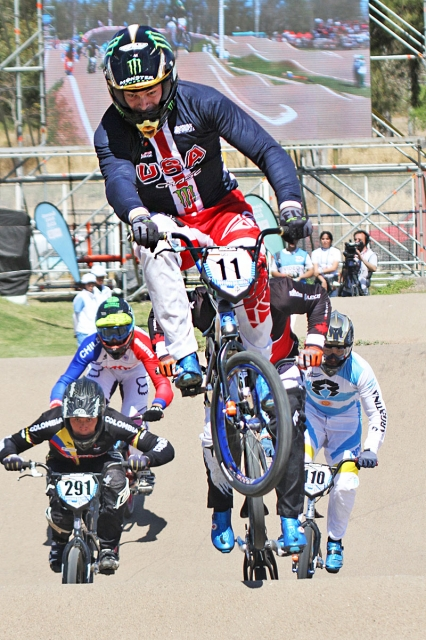 Connor Fields took the win in the final BMX Supercross event of 2017