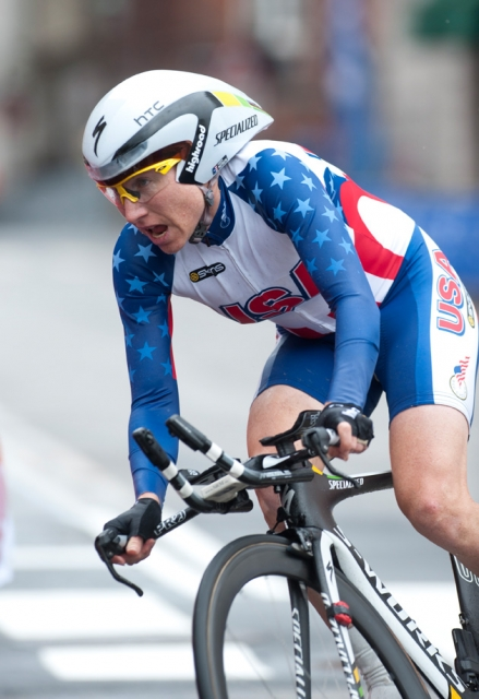 Amber Neben will be among the women representing the United States at the 2012 UCI Road World Championships. (Photo by Casey Gibson)