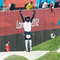 Olympic BMX Time Trial Seeding