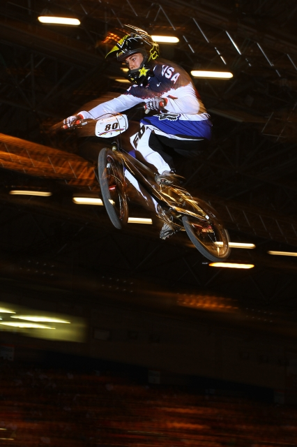 David Herman unofficially won USA Cycling's BMX Power rankings with his fifth-place finish  and grabbed the first automatic nomination to the Olympic Games.