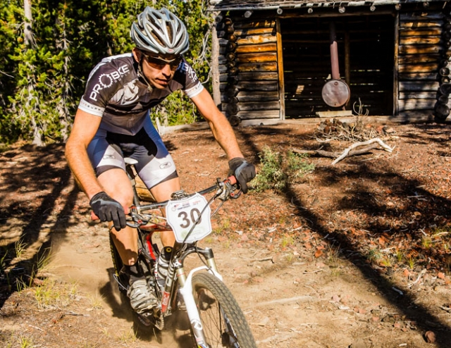 Dana Weber finished 73rd at the 2012 UCI Mountain Bike Marathon World Championships. (Photo by Matthew Lasala)